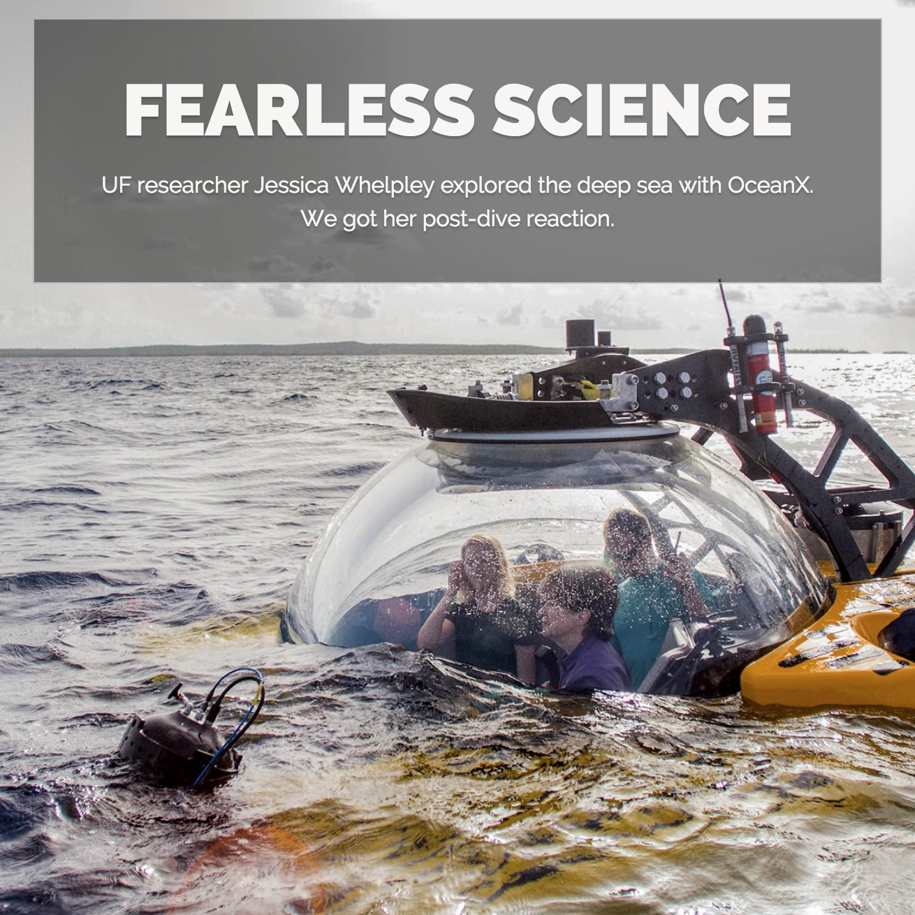 Jessica Whelpley Featured in Fearless Science Article