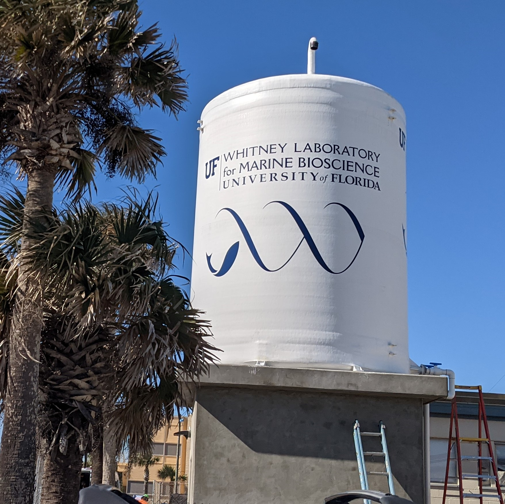 New Sea Water Cistern at Whitney Laboratory