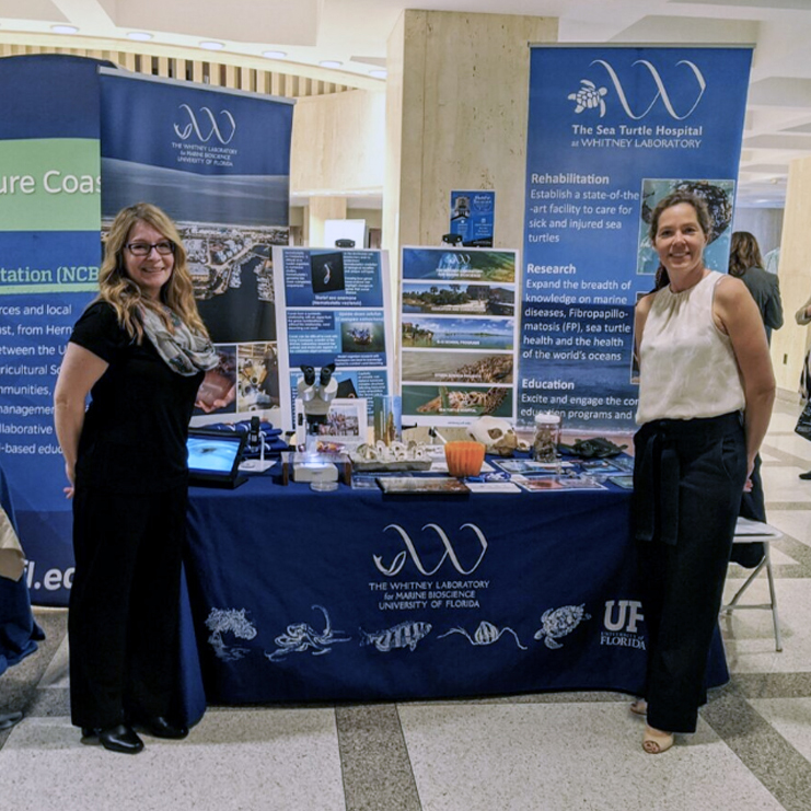 Whitney Laboratory Booth at Oceans Day