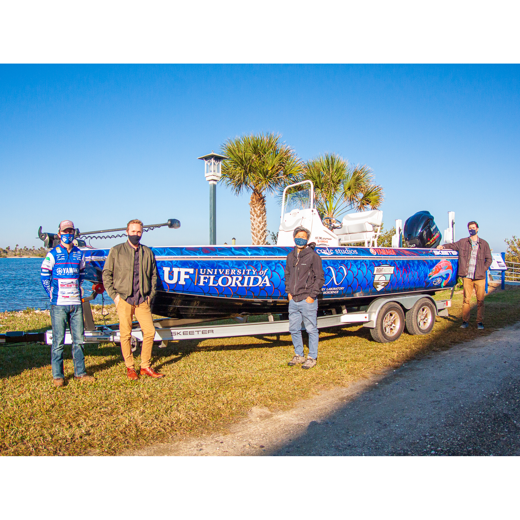 Yamaha Rightwaters Boat for UF