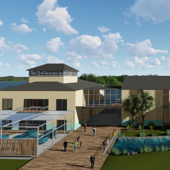 Lab Building Rendering